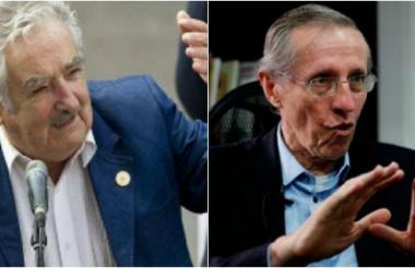 ntonio Navarro Wolff, senador de la Alianza Verde y exguerrillero del M-19 (izq). José 'Pepe' Mujica, expresidente de Uruguay, exguerrillero de los Tupamaros (der).