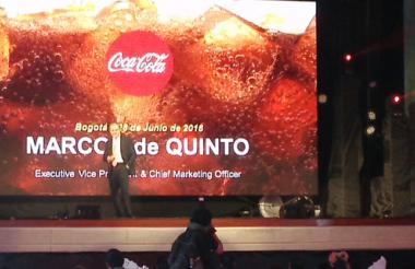 Marcos de Quinto, director de marketing de The Coca-cola Company.