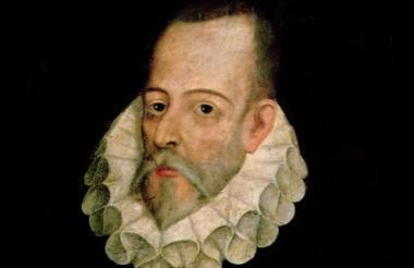 El autor Miguel de Cervantes Saavedra