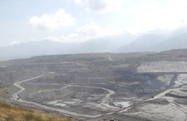 Mina de carbón La Jagua ubicada en Cesar.