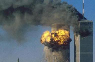 Las Torres gemelas, derrumbadas el 11 de septiembre de 2001.