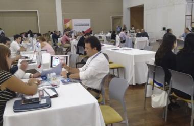 Rueda de negocios de dotación realizada en Barranquilla.