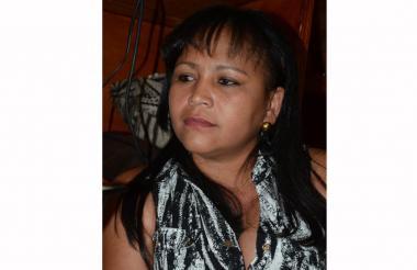 Bely Gneco Terán, ex secretaria de educación de La Guajira.