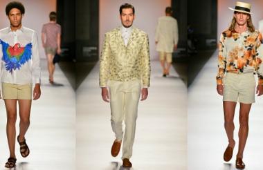 Atuendos presentados por el diseñador de modas barranquillero, en el marco de Colombiamoda 2016.