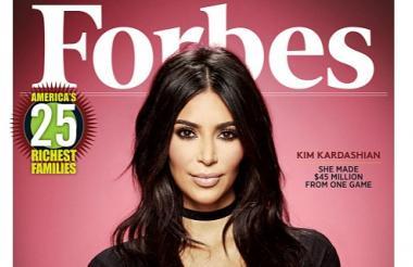 La socialité estadounidense en la más reciente portada de la revista Forbes.
