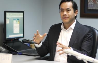 Diego Bermúdez, gerente de ventas de Copa Airlines.