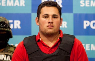 Jesús Alfredo Guzmán Salazar, hijo del 'Chapo' Guzmán.
