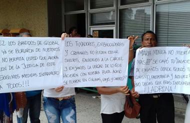 Víctimas de Global Brokers piden cárcel para los implicados.