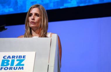 María José Vengoechea, presidenta de la Cámara de Comercio de Barranquilla (CCB).