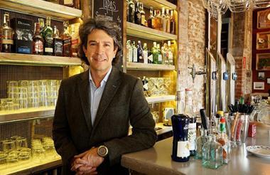 El barranquillero Francisco Hormiga en su restaurante Hache, ubicado en Madrid.