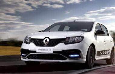 Renault Sandero, uno de los nuevos modelos de la marca francesa.