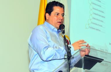 Germán Arce, ministro de Minas y Energía.