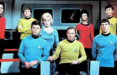 Elenco de la serie original de 'Star Trek'