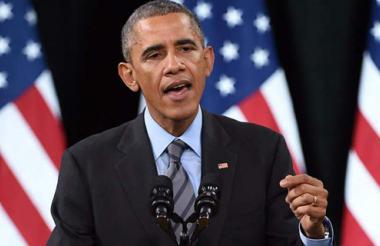 Barak Obama, presidente de Estados Unidos.