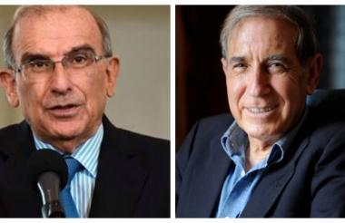 Humberto de la Calle y Shlomo Ben Ami.