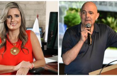 María José Vengoechea y Germán Vargas Lleras.