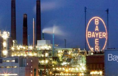 Fábrica de Bayer.