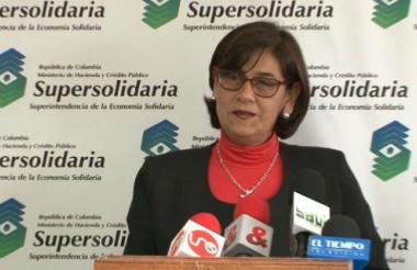 La superintende de la Economía Solidaria, Mariana Gutiérrez Dueñas.