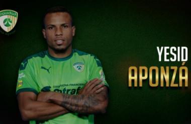 Yesid Aponzá militaba en el club capitalino La Equidad.