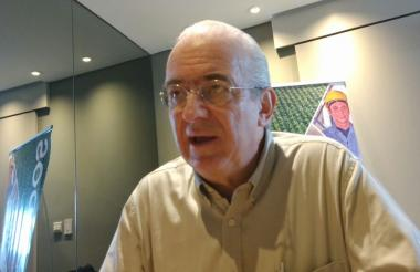 Jan Meza Dishington, presidente ejecutivo de Fedepalma.