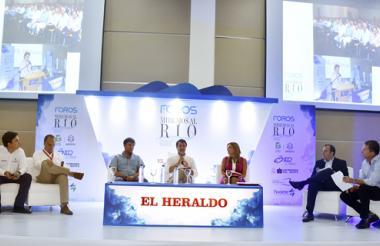 Alejandro Callejas, Andrés Castellanos, Jaime Pumarejo, Dimitri Zaninovich, María José Vengoechea, Juan Rodas y René Puche.