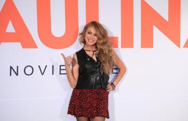 La cantante mexicana Paulina Rubio.