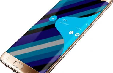 Aspecto del Galaxy S7 Edge, de Samsung.