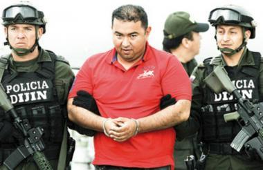 El hijo de 'La Gata' Jorge Luis Alfonso Lopéz.