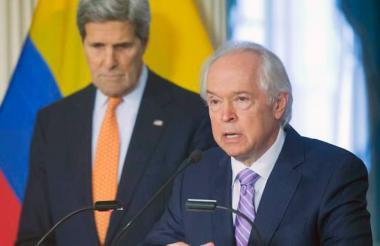 Bernard Aronson, enviado especial de la administración Obama al proceso de paz de Colombia.