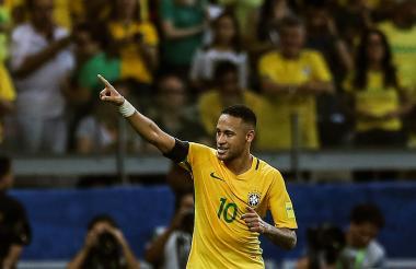 Neymar fue figura en el juego pasado ante Argentina.