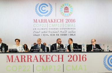 Cumbre de Naciones Unidas para el Clima (COP22) en Marrakech (Marruecos).