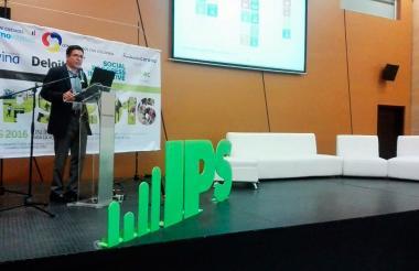 Juan Cristóbal Birbuet, Director del Indice de Progreso Social para América del Sur