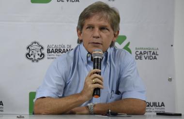 Alfredo González - Rubio, presidente del Junior.