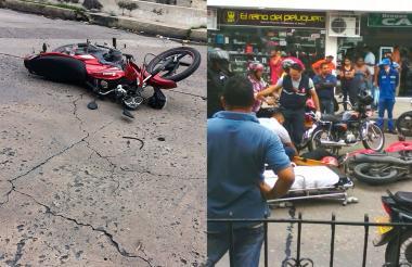 Barrio Nuevo Horizonte y Barrio El Carmen.