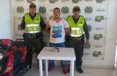 Jonder Sanabria Cabrera, venezolano capturado.