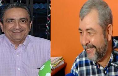 Juan David Náder Chejne y Edwin Preciado Lorduy.
