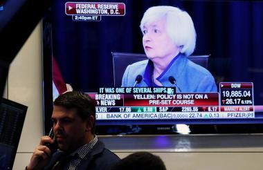 Presidenta de la Reserva Federal de Estados Unidos, Janet Yellen.