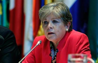 Secretaria ejecutiva de la Cepal, Alicia Bárcena.