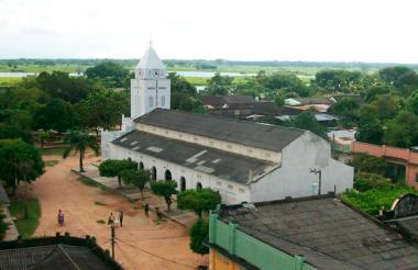 Iglesia de Guamal, Magdalena.
