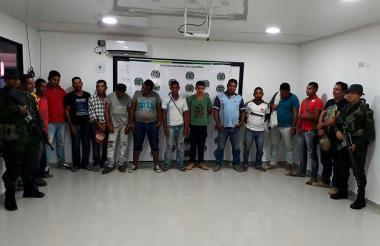 Detenidos por las autoridades por cometer delitos ambientales.