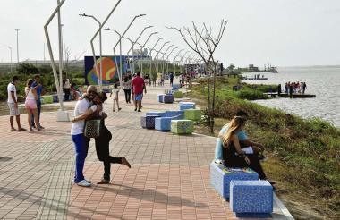 La avenida del río, uno de los proyectos que promete devolverle la importancia al Magdalena, en Barranquilla.