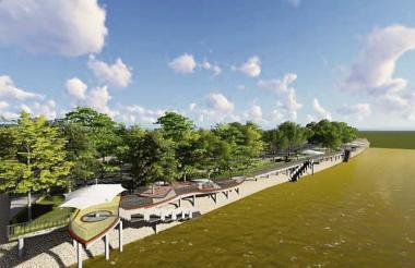 El río Sinú es el protagonista de al menos tres grandes proyectos que se adelantan actualmente en la ciudad, sin que desaparezcan los emblemáticos planchones de madera.
