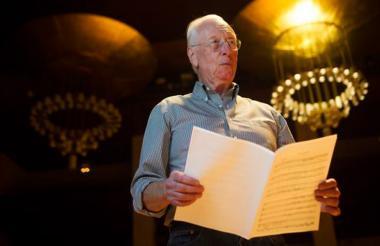 El director William Christie.