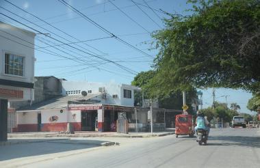 En este lugar de Tajamares fue baleado el barrista.
