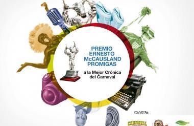 Imagen de la quinta edición del Premio Ernesto McCausland Sojo.