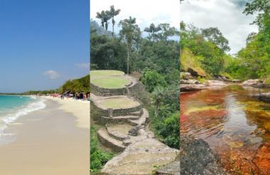 Algunos espacios naturales con los que cuenta Colombia que pueden ser visitados.