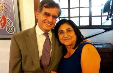 Elsa Marina Usurieta, de 65 años, quien fue víctima del naufragio de una lancha que partió desde el muelle de La Bodeguita hacia las islas del Rosario.