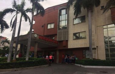 Clínica de Barranquilla donde murió el menor wayuu.