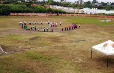 Este es el escenario deportivo El Diamante, en Pereira.