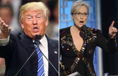 Donald Trump se enfrentó a Meryl Streep tras su discurso en los Globos de oro.
